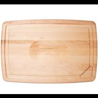 "PSB-2416--JK Adams, Pour Spout Board with Bird/Roast Cradle 24""x16""x1"""