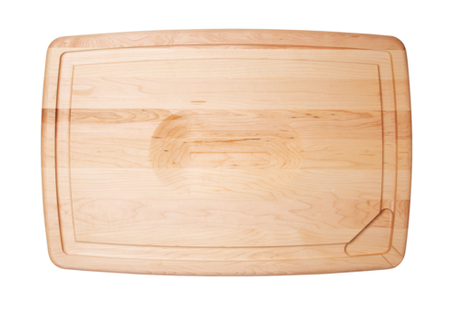 "JK. Adams PSB-1612--JK Adams, Pour Spout Board w/ Bird/Roast Cradle, Maple 16""x12""x1"""