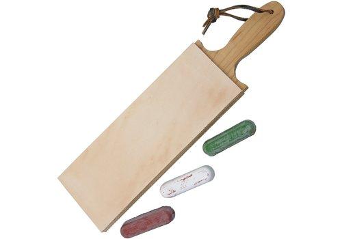 Garos Goods GG3DSLSC--Garos Goods, Paddle Strop 3in w/Compound