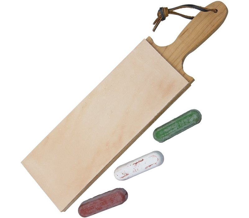 GG3DSLSC--Garos Goods, Paddle Strop 3in w/Compound