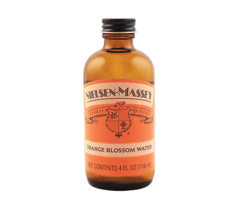 ROB4M--NielsenMassey, Orange Blossom Water 4oz. Single