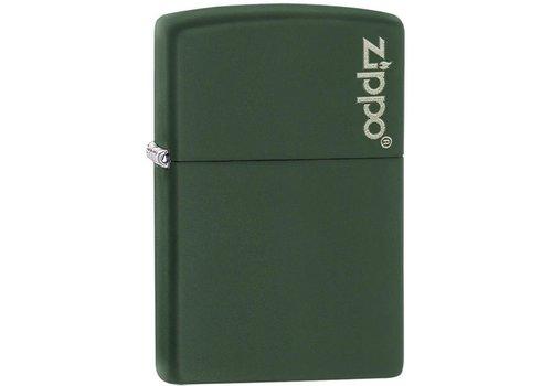 Zippo ZO11347--Zippo, Logo Matte Green