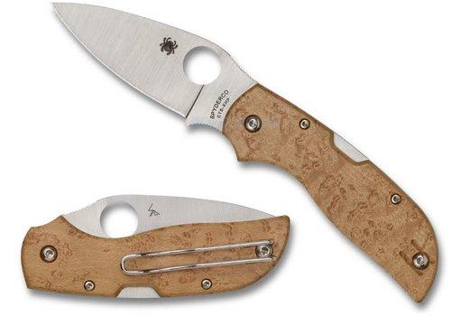 Spyderco Knives C152WDP--Spyderco, Chaparral w/ Birdseye Maple Handle