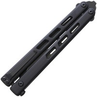 BRB254--Brous Blades, BlackCELL Balisong Acid SW