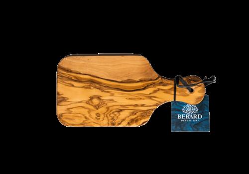 "Berard BER54070--Browne, Berard Cutting Board W/ Handle 8x4.25"" /21x11cm Olivewood"