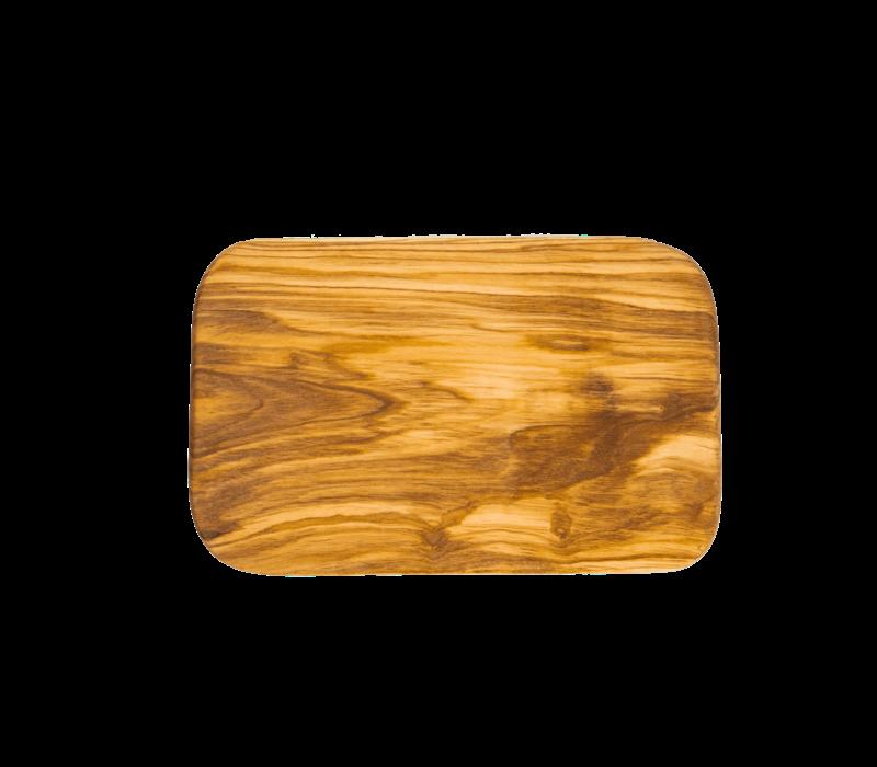 """BER54170--Browne, Berard BERARD Cutting Board """"Rectangular"""" 9x6""""/22x14.5cm Olivewood"""