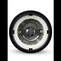 37499--PSP, Paris Icone Salt Mill u'Select  Wood Black Lacquer 22cm