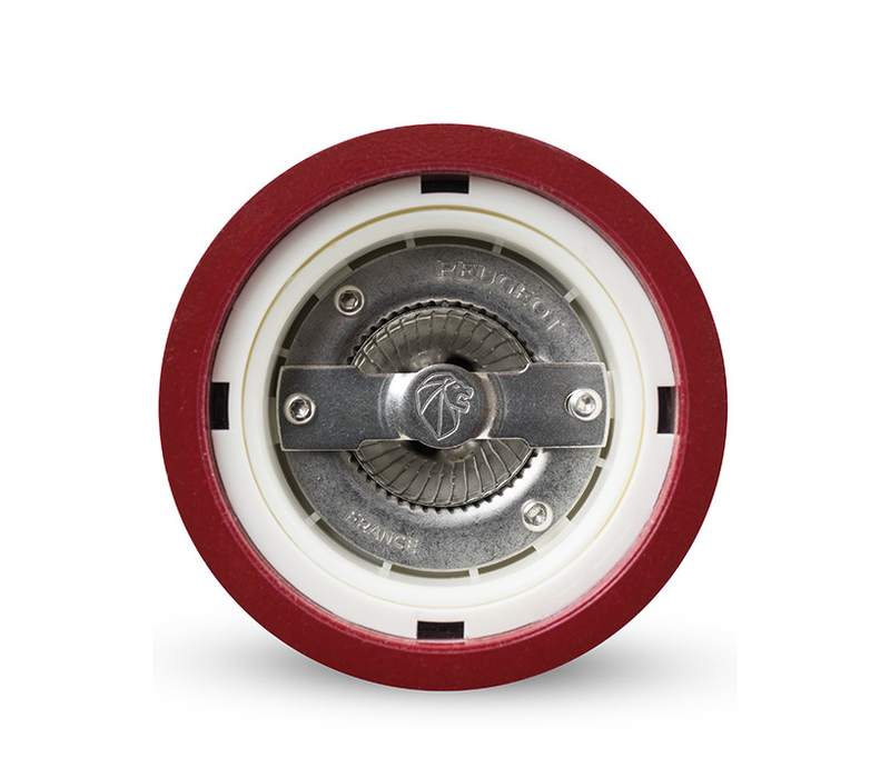 23614--PSP, Paris Salt Mill u'Select Wood Red Lacquered 22cm