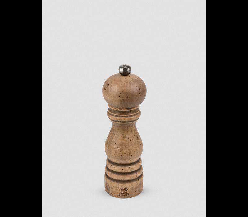 30957--PSP, Paris Antique Pepper Mill Wood Matte Antique 18cm