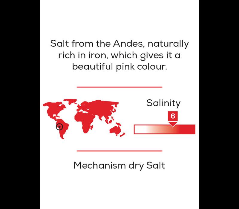 37239--PSP, Pink Andean Coarse Salt Cube 350G