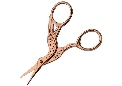 Blueridge Knives CN107720--Embroidery Scissors Rose Gold