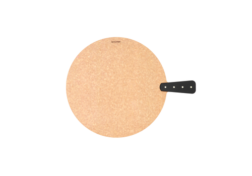 "Epicurean 008-R00140102--Epicurean, Riveted Handy Series 14"" Round Natural/Slate Handle"
