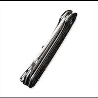 C2011DS-1--WEKnives, Mini Mastadon W/Carbon Fiber Handle & Damascus Blade