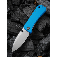 2004A--WEKnives, Banter W/Blue G10 Handle & S35VN Steel