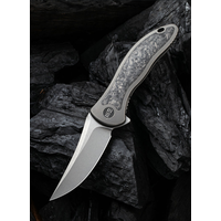 2011CF-A--WEKnives, Mini Synergy W/Titanium & Carbon Fiber Handle & 20CV Steel