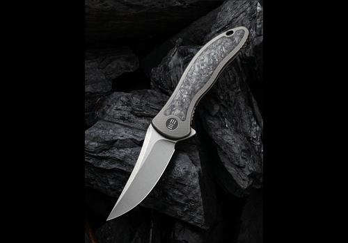 WE Knife Co. 2011CF-A--WEKnives, Mini Synergy W/Titanium & Carbon Fiber Handle & 20CV Steel