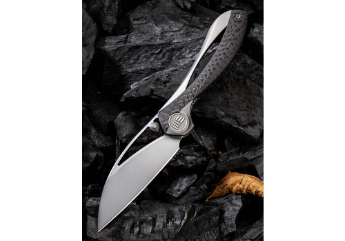 WE Knife Co. 821A--WEKnives, Pleroma W/Titanium & Carbon Fiber Handle & M390 Steel