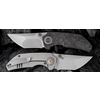 WE Knife Co. 2103C--WEKnives, Thug W/Titanium & Carbon Fiber Handle & 20CV Steel