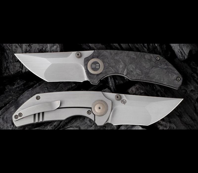 2103C--WEKnives, Thug W/Titanium & Carbon Fiber Handle & 20CV Steel