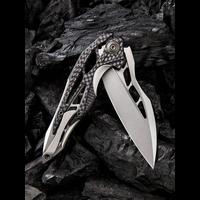 906CF-C--WEKnives, Arrakis  W/Titanium & Carbon Fiber Handle & M390 Steel