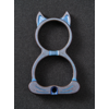 WE Knife Co. A-07C--WEKnife, WE Cat, Blue Ti Collectible Knuckle