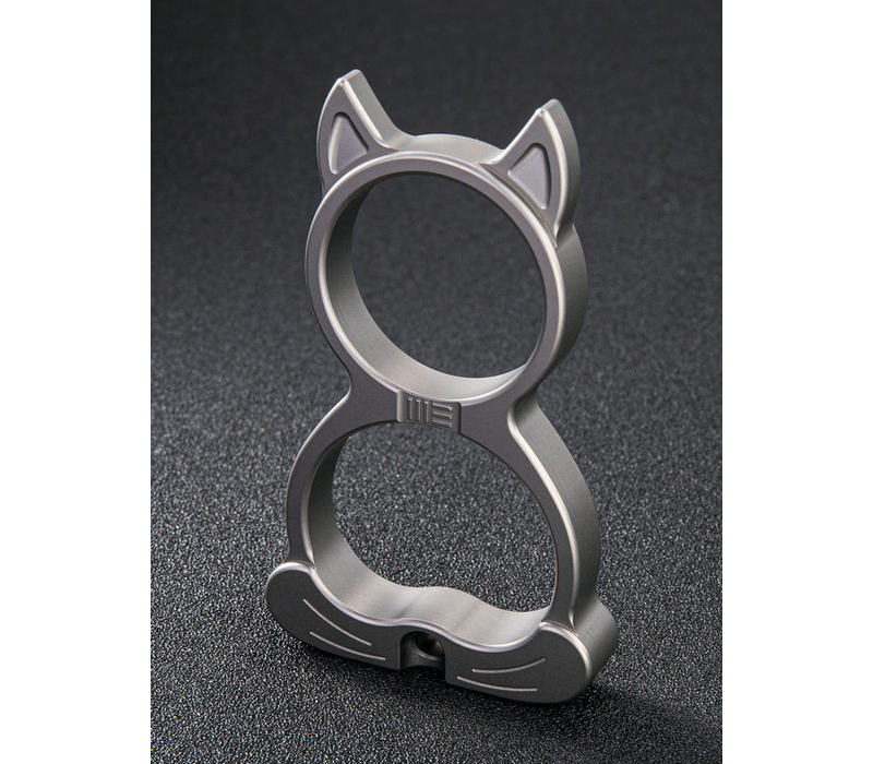 A-07D--WEKnife, WE Cat Gray Ti Collectible Knuckle
