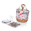 Picnic Time 203-20-152-000-0--PicnicTime, Promenade Picnic Basket, (Floral Pattern)