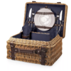 Picnic Time 208-40-138-000-0--PicnicTime, Champion Picnic Basket, (Navy Blue)