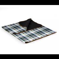 920-00-109-000-0--PicnicTime, Blanket Tote XL - English Plaid/Brown Flap