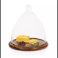 825-01-512-000-0--PicnicTime, Cheese Cloche Dome, (Acacia Wood)