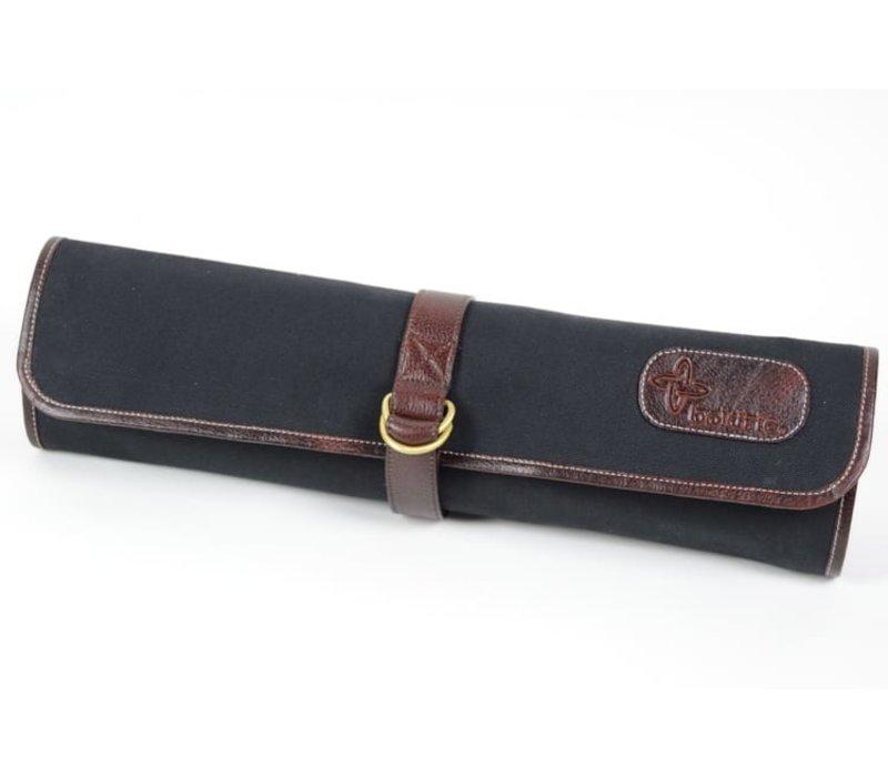 CT104--Boldric, Canvas Tie Bag Black