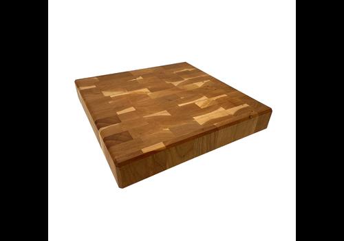 """JK. Adams CNK-1616-CH--JKAdams, Cherry Chunk Board - 16"""" x 16"""" x 2-1/2"""""""