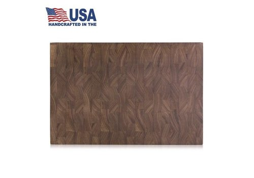 "Cangshan 1023763--Cangshan, Thomas Keller Signature Collection End Grain American Walnut Cutting Board 12""x18""x1.5"""