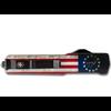Templar MA-BRF-12-1--Templarknives, Slim Aluminum Betsy Ross Flag Dagger Black D2