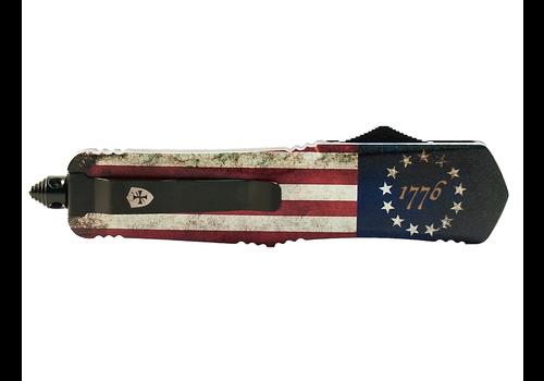 Templar L-BRF-33-1--Templarknives, Large Betsy Ross Flag Drop Black