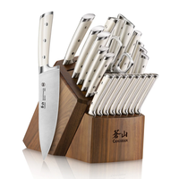 1026047--Cangshan, S1 Series German Steel Forged 23pc. Set