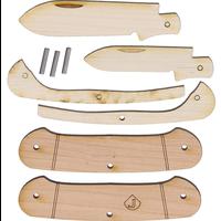 JJ5--BlueRidge, JJ's Knife Kit wooden