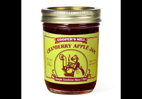 Crossroads JJ15--Crossroads, Cranberry Apple Jam - Half Pint