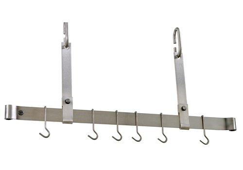 "Enclume PR11SS--Enclume, Adjustable Ceiling Rack Stainless Steel 48"""