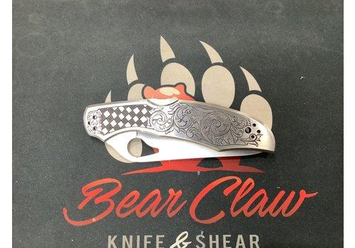 Byrd Knives BY03P2CUEN--Byrd, Cara Cara 2 SS Custom Engraving