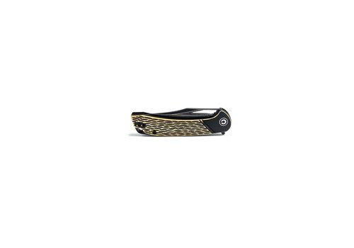 Civivi C2005DS-1--WEKnives, Dogma W/Brass Handle & Damascus Blade