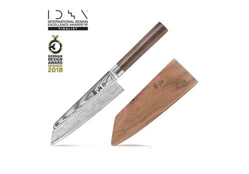 Cangshan 62748-Cangshan, J Series 62748 Japan VG-10 Forged Kiritsuke Chef Knife, 7-Inch