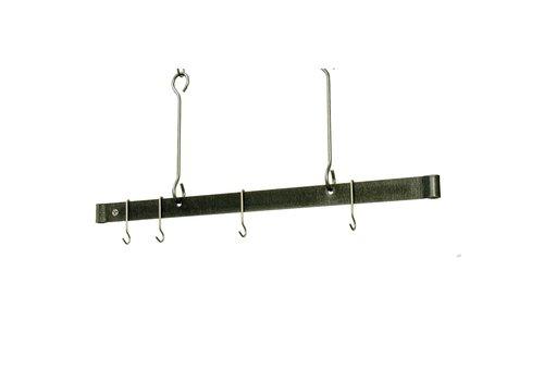 "Enclume PR1860--Enclume, 60"" Offset Hook Ceiling Bar Stainless Steel"