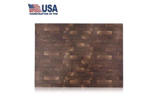 "Cangshan 1022360--Cangshan, Thomas Keller Signature Collection End Grain American Walnut Cutting Board 16""x22""x2"""