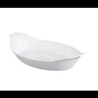 98021--HIC, Au Gratin, Oval, 10in Porcelain