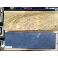 "30306--Preyda, Combination Wide Bench Stone, Soft/Hard Black Arkansas 10""x3""x1"""