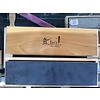 Dan's Whetstone Company Dan's Whetstone Arkansas Black Bench Stone 12x3x1 w/ Wooden Box BAB-123-C