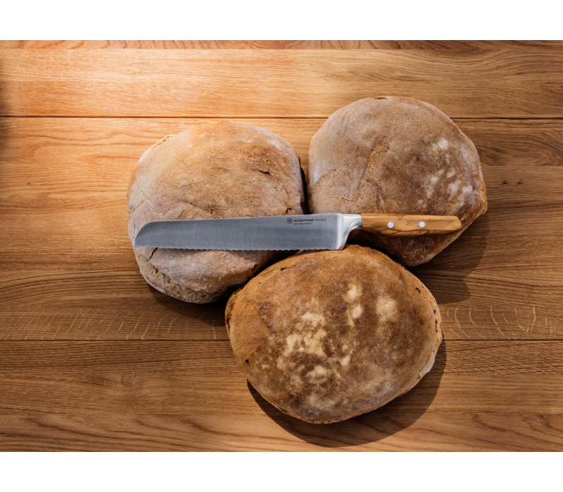 "Wusthof Bread Knife 9"" Double Serrated, AMICI 1011301123"