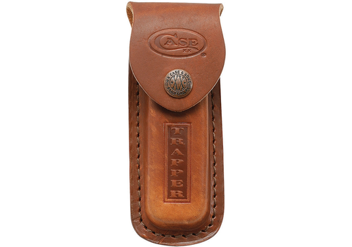 Case & Sons Cutlery Co. CA980 --Case, Trapper Leather Sheath, Brown