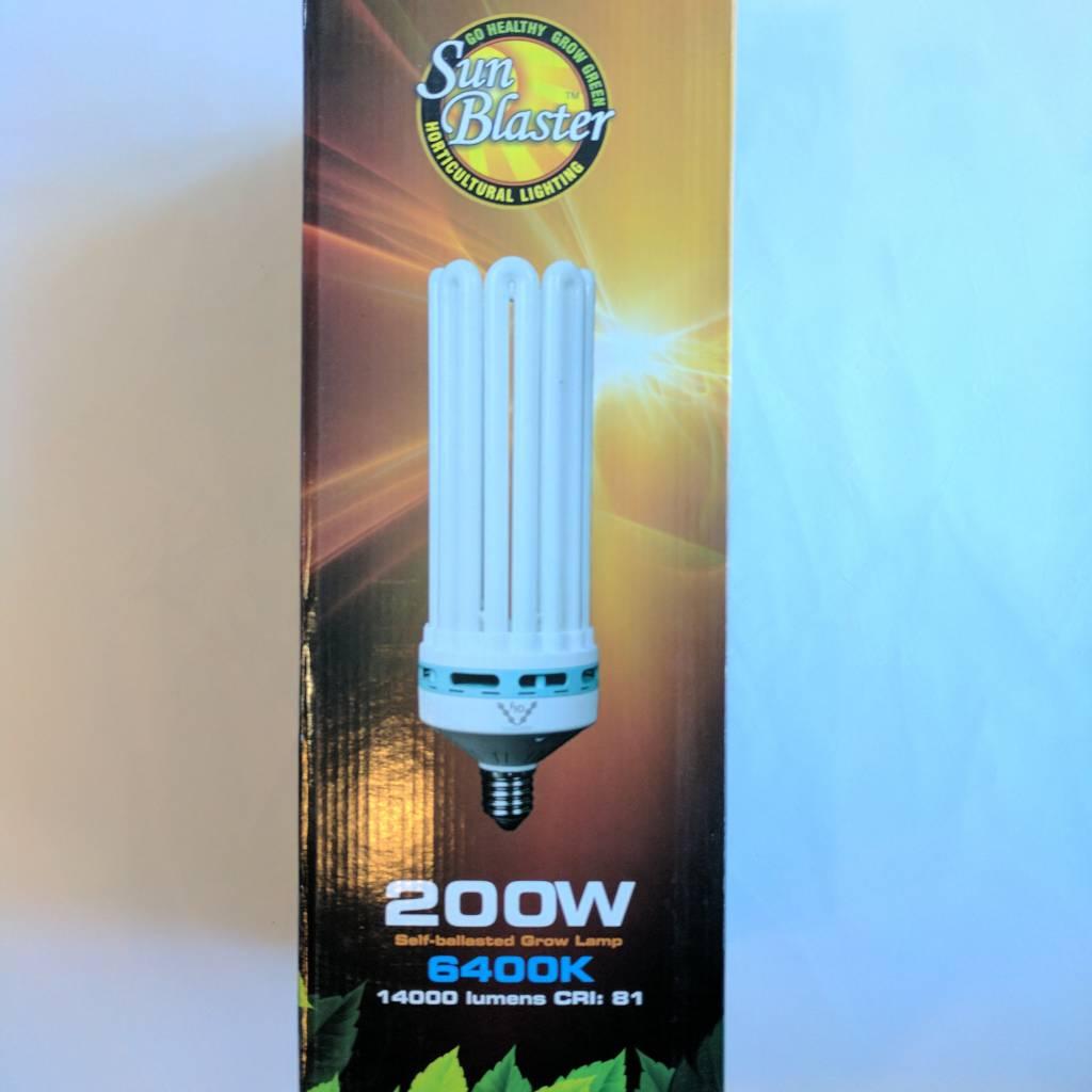 SunBlaster Ampoule Fluocompacte 6400k 200w